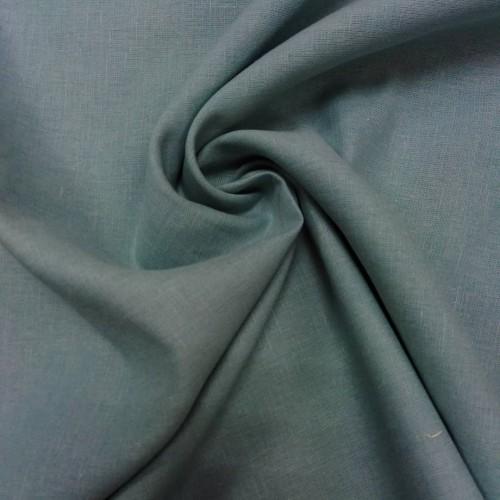 """Сорочечная ткань """"МЕНТОЛ"""", лён, хлопок, ширина 150 см, Беларусь, 1 метр 450 руб"""