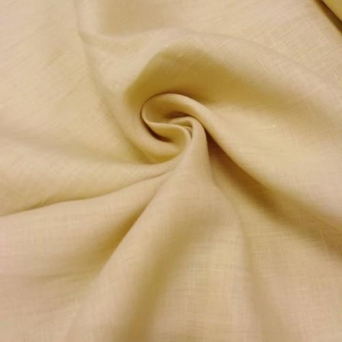 """Сорочечная ткань """"ТОПЛЕНОЕ МОЛОКО"""", лён 100%, ширина 150 см, Беларусь, 1 метр 650 руб"""