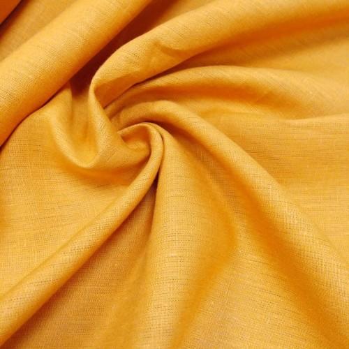 "Сорочечная ткань ""ШАФРАН"", лён 100%, ширина 150 см, Беларусь, 1 метр 500 руб"