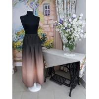 """Легкая и воздушная юбка в романтическом стиле из 100% льняной ткани """"Рассвет"""""""