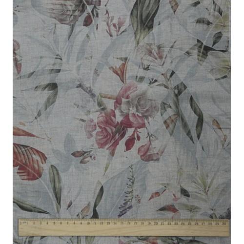 Лён  ТРОПИКАНА Сорочечная ткань шир 150 см Цена за 1 метр 115 руб